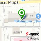 Местоположение компании Марья-искусница