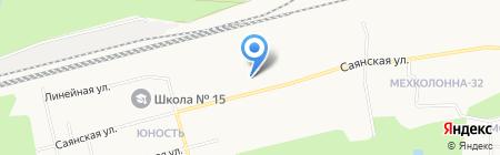 Лидер на карте Сургута