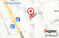 Схема проезда до компании Ньюс Медиа в Омске