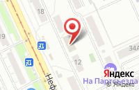 Схема проезда до компании Рекламное агентство  в Омске