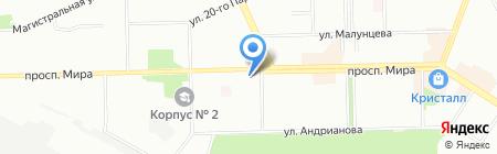 Алкосфера на карте Омска