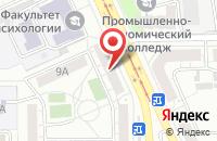 Схема проезда до компании Дуэт в Омске