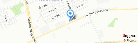 Энтузиастов на карте Омска