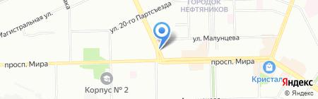 Омск-Пресс на карте Омска
