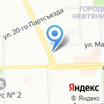Лидер на карте Омска