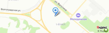 Детский сад №211 на карте Омска