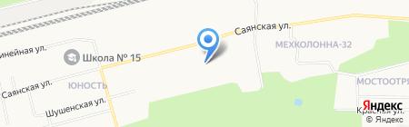 АЗС SRS OIL на карте Сургута