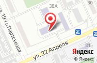 Схема проезда до компании Априори в Омске