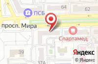 Схема проезда до компании Издательский Дом «Курс» в Омске