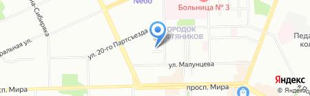 Твой город на карте Омска