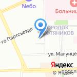 ЕвроАвто на карте Омска