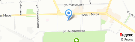 Детский сад №222 на карте Омска