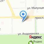 Родник здоровья на карте Омска