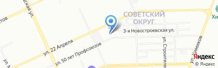 Специальная общеобразовательная школа открытого типа №153 на карте Омска