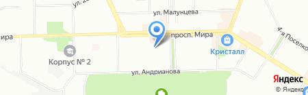 СибЛаб на карте Омска