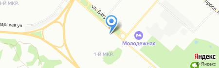 Star на карте Омска