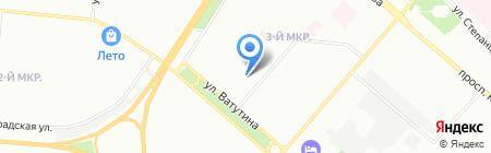 Детский сад №169 на карте Омска