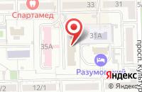 Схема проезда до компании Инвест-строй-подряд в Омске