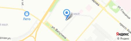 Средняя общеобразовательная школа №11 на карте Омска