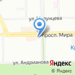 Отто на карте Омска
