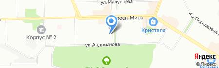 Продукты 24 часа на карте Омска