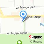 Конфетка на карте Омска