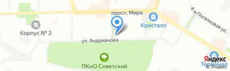 Голден Гор на карте Омска