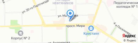 Трамвайчик на карте Омска