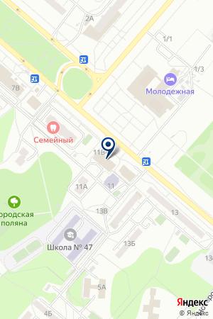 ПРОИЗВОДСТВЕННАЯ ФИРМА ЕВРО-ПЛАСТ на карте Омска