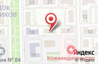 Схема проезда до компании Развития Демократических Институтов Омской Области в Омске