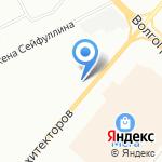Резиновая подкова на карте Омска