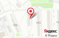 Схема проезда до компании Факел в Омске