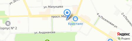 TianDe на карте Омска