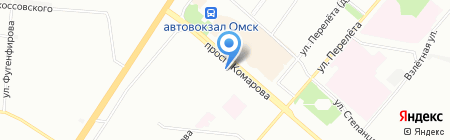 Ладушки на карте Омска