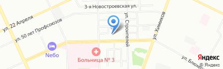 Средняя общеобразовательная школа №86 на карте Омска
