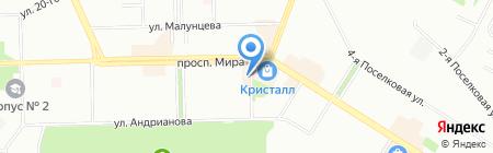 Автошкола Гарант на карте Омска
