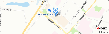 Шарм на карте Омска