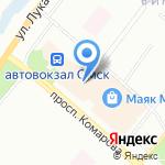 Танго на карте Омска