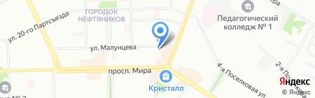 КрасМед на карте Омска