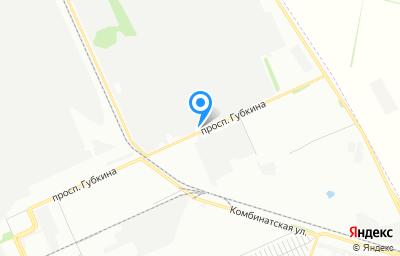 Местоположение на карте пункта техосмотра по адресу г Омск, пр-кт Губкина, д 19