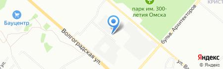 Энергоавтотранс на карте Омска