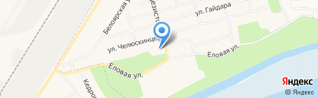 Ветеринарная лаборатория на карте Сургута