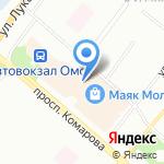 Детки на карте Омска