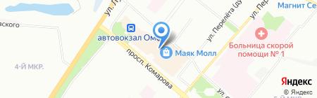 Текстильный мир на карте Омска