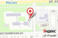 Схема проезда до компании Новое Поколение в Омске