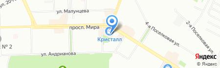 Фифа на карте Омска