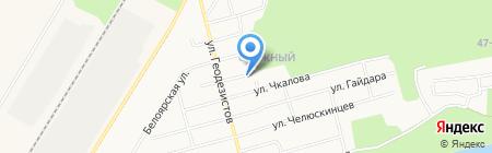 Ореол на карте Сургута