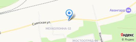 Градос на карте Сургута