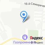 Ривьера на карте Омска