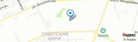 Детский сад №312 на карте Омска